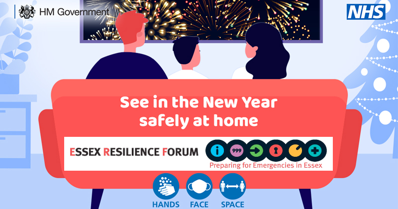 See in the New Year safely at home