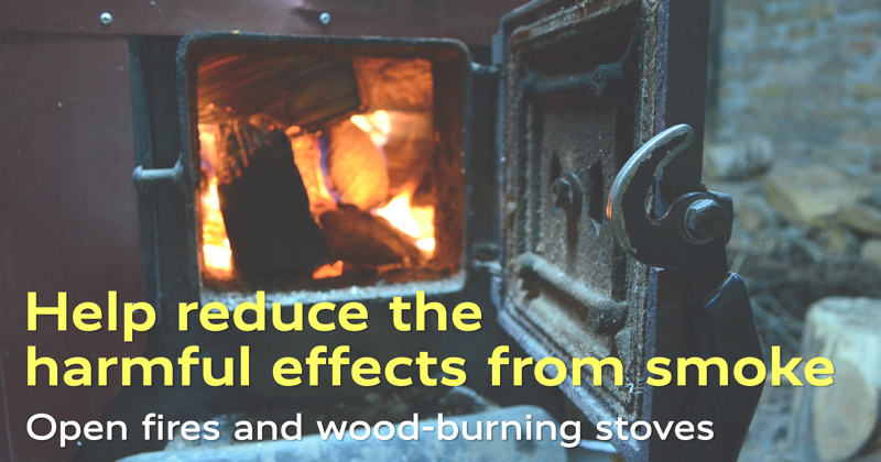Help reduce the harmful effects from smoke