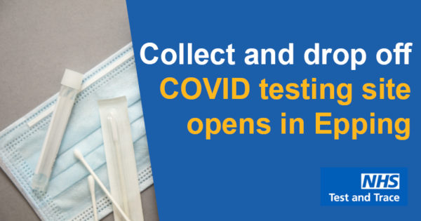 Collect and drop off COVID testing site opens in Epping