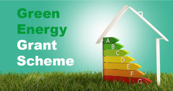 House with the energy efficiency ratings in it on a patch of grass