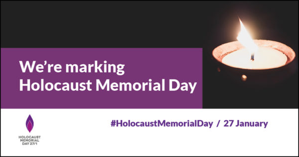 We're marking Holocaust Memorial Day