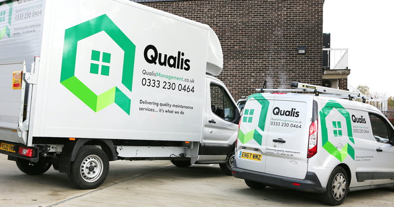 Qualis Management continues to offer repair service to customers during new lockdown