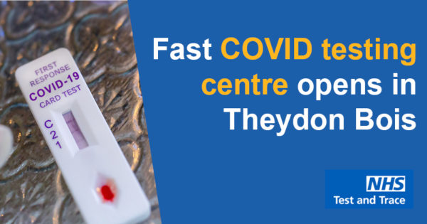 Fast COVID testing centre opens in Theydon Bois