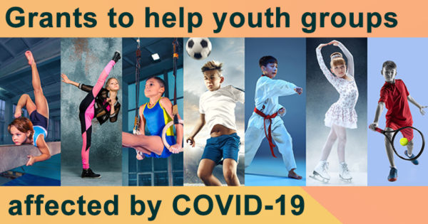 Grants to help youth groups affected by COVID-19