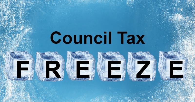 Council tax freeze