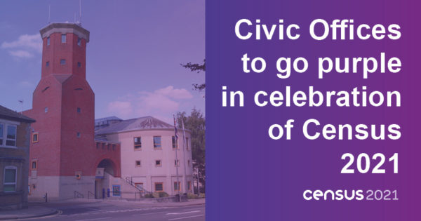 Civic office building - Civic Offices to go purple in celebration of Census 2021