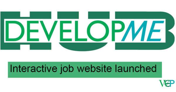 Developme - interactive job website launched