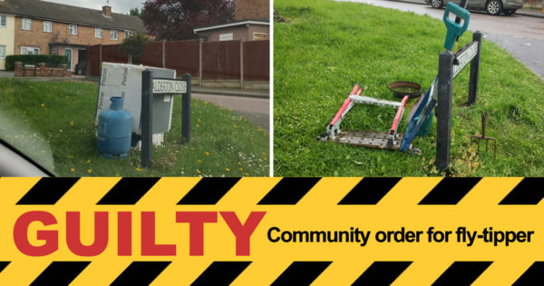 Community order for fly-tipper
