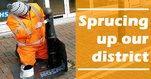 Sprucing up our district
