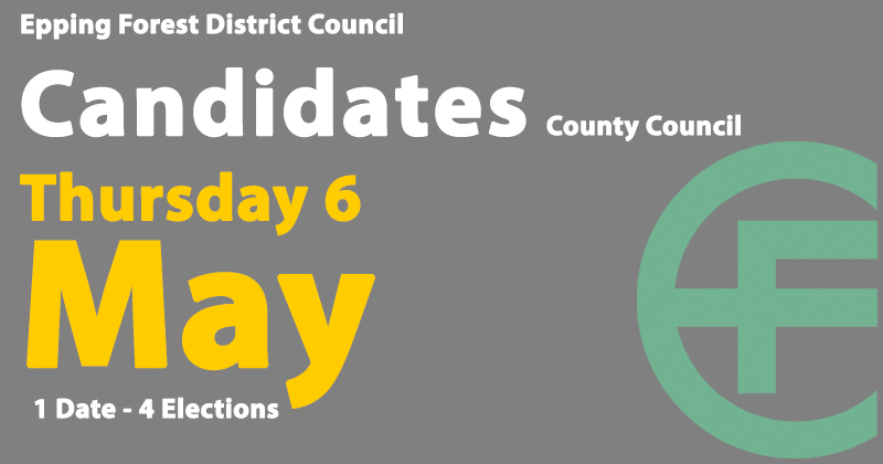 Candidates for the 6 May 2021 County Council elections