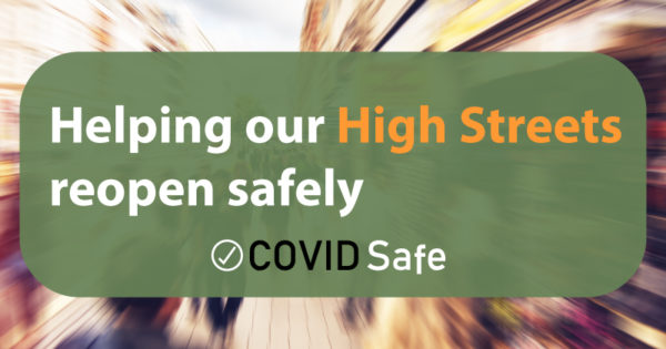 Helping our High Streets reopen safely