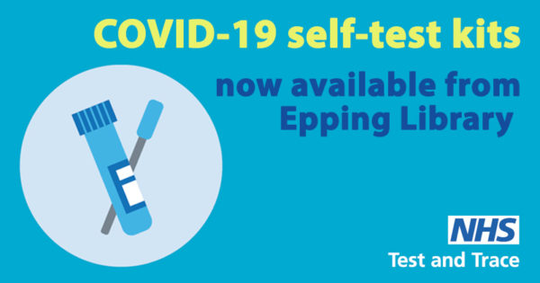 COVID-19 self-test kits now available from Epping Library