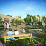 An artist impression of the proposed site at Roundhills, Waltham Abbey
