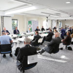 Held in our new conference suite to meet COVID safety measures