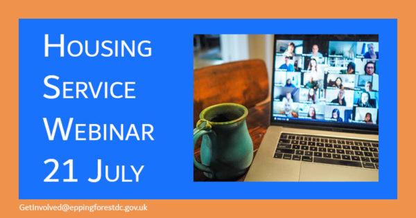 Housing Service Webinar 21 July