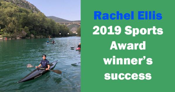 Rachel Ellis - 2019 Sports Award winner's success