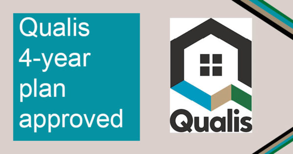 Qualis 4-year plan approved with Qualis Group logo