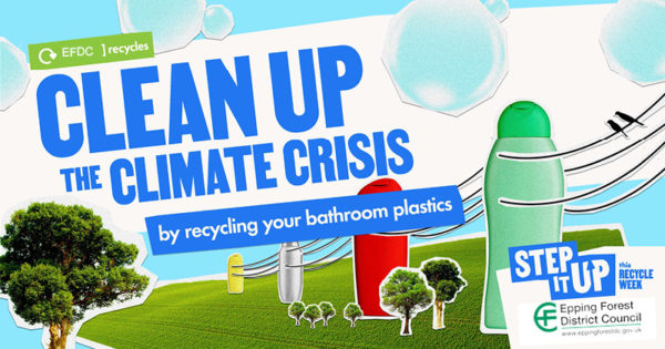 Clean up the climate crisis by recycling your bathroom plastics