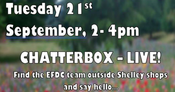 Chatterbox live at Shelley shops 21 September 2-4pm