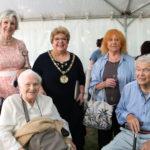 Chairman Helen Kane with Loughton Boys