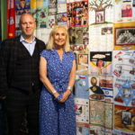 Robert Rinder MBE and his mum Angela Cohen MBE at the exhibition