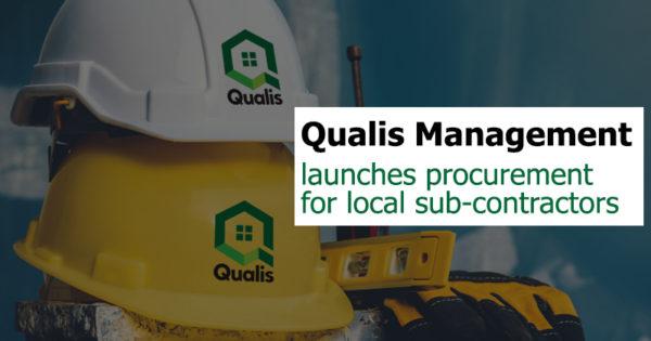 Qualis Management launches procurement for local sub-contractors